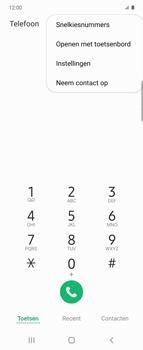 Samsung Galaxy Z Flip - voicemail - handmatig instellen - stap 5