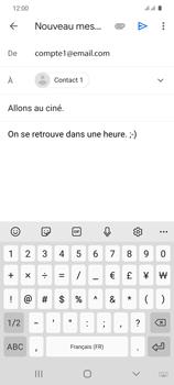 Samsung Galaxy S20 - E-mails - Envoyer un e-mail - Étape 10