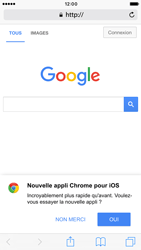 Apple iPhone 6 iOS 10 - Internet et roaming de données - Navigation sur Internet - Étape 12