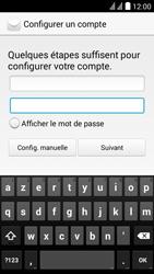 Huawei Y625 - E-mail - Configuration manuelle - Étape 7