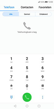 Huawei Mate 10 Pro - Voicemail - Handmatig instellen - Stap 3