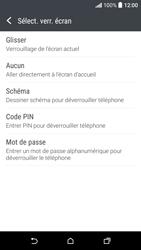 HTC Desire 530 - Sécuriser votre mobile - Activer le code de verrouillage - Étape 6