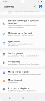 Samsung Galaxy A42 5G - Applications - Supprimer une application - Étape 4