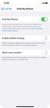 Apple iPhone 11 Pro - Device - Enable