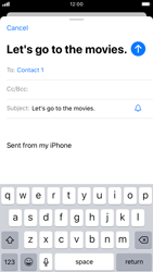 Apple iPhone 7 - iOS 13 - Email - Sending an email message - Step 7