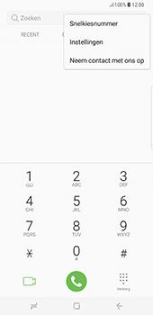 Samsung Galaxy S8 Plus (G955) - Voicemail - Handmatig instellen - Stap 5