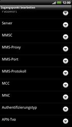 HTC Z710e Sensation - Internet - Manuelle Konfiguration - Schritt 11