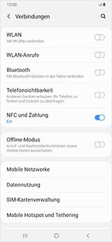 Samsung Galaxy A50 - Netzwerk - Netzwerkeinstellungen ändern - Schritt 5