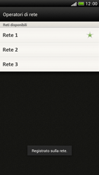 HTC One S - Rete - Selezione manuale della rete - Fase 11