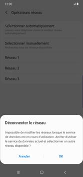 Samsung Galaxy Note 10 Plus 5G - Réseau - Sélection manuelle du réseau - Étape 11