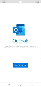 Samsung Galaxy Note 10 - E-mail - 032c. Email wizard - Outlook - Step 5