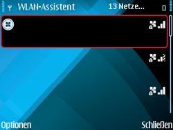 Nokia E71 - WLAN - Manuelle Konfiguration - Schritt 9
