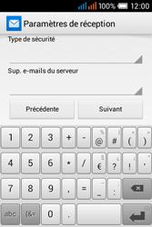 Alcatel OT-4015X Pop C1 - E-mails - Ajouter ou modifier un compte e-mail - Étape 14