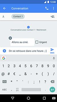 Motorola Moto E4 Plus - Contact, Appels, SMS/MMS - Envoyer un MMS - Étape 10