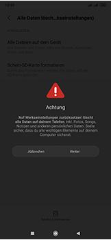Xiaomi Mi Mix 3 5G - Gerät - Zurücksetzen auf die Werkseinstellungen - Schritt 7
