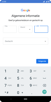 Nokia 9 - Applicaties - Account instellen - Stap 9
