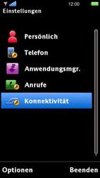 Sony Ericsson U5i Vivaz - WLAN - Manuelle Konfiguration - Schritt 4
