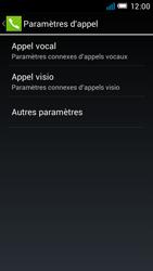 Alcatel OT-6012X Idol Mini - Messagerie vocale - Configuration manuelle - Étape 6