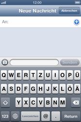 Apple iPhone 4 - MMS - Erstellen und senden - Schritt 6