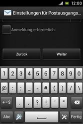 Sony Xperia E - E-Mail - Konto einrichten - Schritt 14