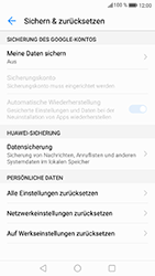 Huawei P8 Lite 2017 - Fehlerbehebung - Handy zurücksetzen - 8 / 11