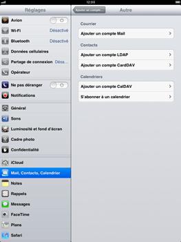 Apple iPad Retina - E-mail - Configuration manuelle - Étape 10