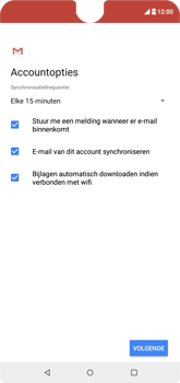 Wiko View 2 - E-mail - Handmatig instellen (outlook) - Stap 10