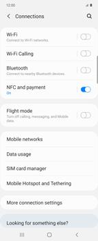 Samsung Galaxy Z flip - Internet and data roaming - Disabling data roaming - Step 5