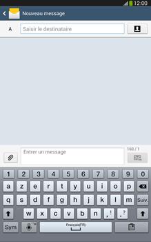 Samsung Galaxy Tab 3 8 4G - Contact, Appels, SMS/MMS - Envoyer un MMS - Étape 5