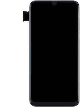 Samsung Galaxy A50 - Appareil - comment insérer une carte SIM - Étape 7