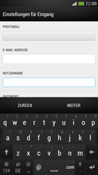 HTC One Mini - E-Mail - Manuelle Konfiguration - Schritt 8