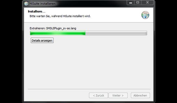 Huawei P10 - Software - Installieren von Software zur PC-Synchronisierung - Schritt 9