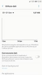 Samsung Galaxy A3 (2017) - Internet e roaming dati - Come verificare se la connessione dati è abilitata - Fase 6