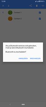 Sony Xperia 1 - Contactgegevens overzetten - delen via Bluetooth - Stap 8