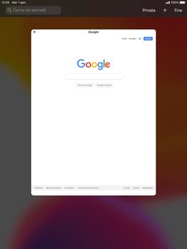 Apple iPad 9.7 (2017) - iPadOS 13 - Internet e roaming dati - Uso di Internet - Fase 12
