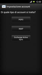 Sony Xperia J - E-mail - Configurazione manuale - Fase 7