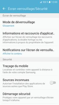 Samsung Samsung Galaxy J7 (2016) - Sécuriser votre mobile - Activer le code de verrouillage - Étape 5