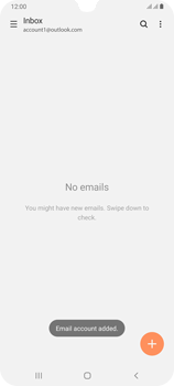 Samsung Galaxy A70 - E-mail - 032c. Email wizard - Outlook - Step 11
