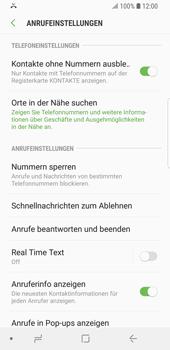 Samsung Galaxy S9 - Anrufe - Anrufe blockieren - 2 / 2