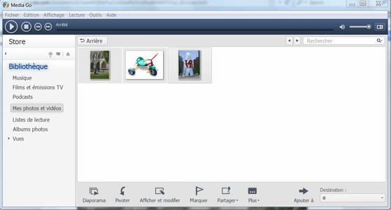 Sony Xperia XA2 Ultra - Photos, vidéos, musique - Récupérer vos contenus multimédias avec un ordinateur - Étape 8