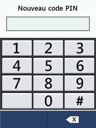 LG T580 - Sécuriser votre mobile - Personnaliser le code PIN de votre carte SIM - Étape 10