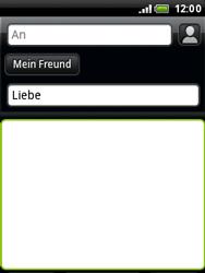 HTC A3333 Wildfire - E-Mail - E-Mail versenden - Schritt 9