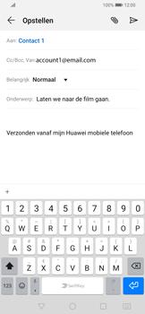 Huawei P Smart Z - E-mail - e-mail versturen - Stap 7