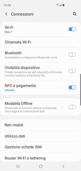 Samsung Galaxy S10 - WiFi - Attivare WiFi Calling - Fase 6