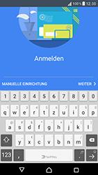 Sony Xperia XZ - E-Mail - Konto einrichten - 9 / 25