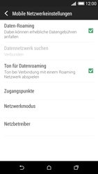 HTC Desire 620 - Ausland - Im Ausland surfen – Datenroaming - 2 / 2