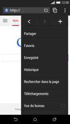 HTC Desire 610 - Internet et connexion - Naviguer sur internet - Étape 8