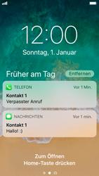 Apple iPhone SE - iOS 11 - Sperrbildschirm und Benachrichtigungen - 9 / 10