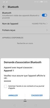 Huawei P30 Pro - Internet et connexion - Connexion avec un équipement multimédia via Bluetooth - Étape 8