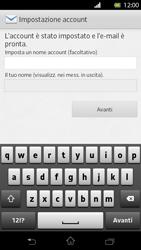 Sony Xperia T - E-mail - Configurazione manuale - Fase 15